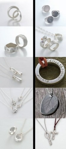 Rings Expansion Clay Art Silver Set stQhrd